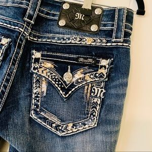 Miss Me Signature Bootcut Jeans Style JV8273B